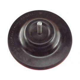 Nosič brusných výseků do vrtačky kloubový - suchý zip, O 125mm, stopka 8mm, EXTOL CRAFT