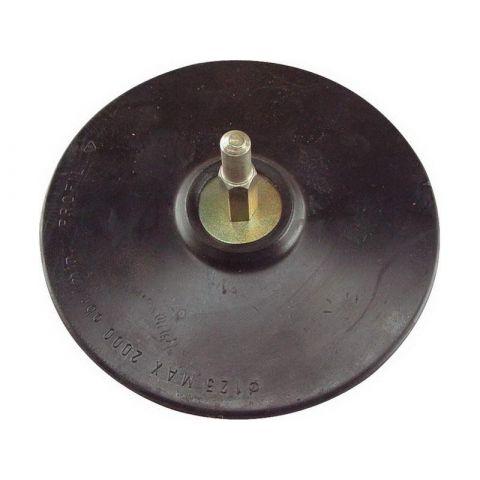 Nosič brusných výseků do vrtačky - suchý zip, O 125mm, stopka 8mm, EXTOL CRAFT