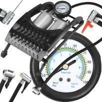 Nožní pumpa dvoupístová univerzální RIPPER