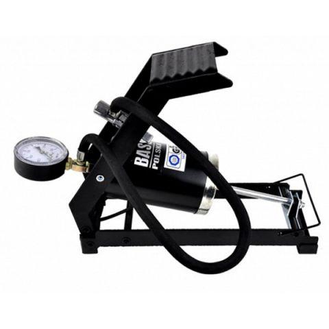 Nožní pumpa s manometrem BASS