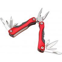 Nůž kapesní multifunkční s nářadím, 100/67mm, 9 dílů, nerez, EXTOL PREMIUM
