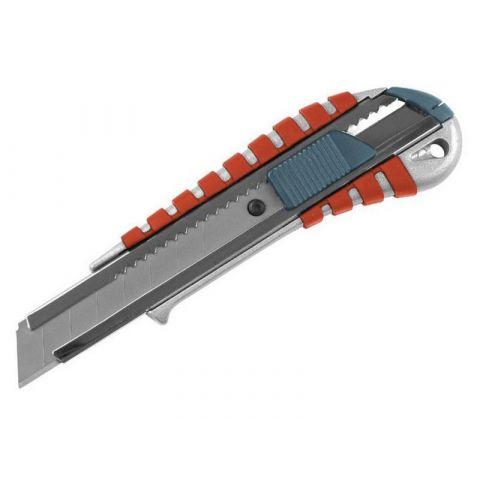 Nůž ulamovací kovový s kovovou výstuhou, 18mm, EXTOL PREMIUM