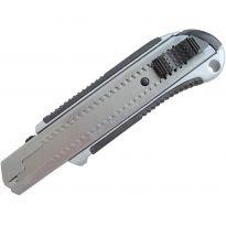 Nůž ulamovací kovový s kovovou výztuhou, 25mm, EXTOL PREMIUM