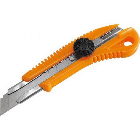 Nůž ulamovací s kovovou výztuhou a kolečkem, 18mm, EXTOL CRAFT