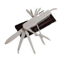 Nůž zavírací 11dílný s pouzdrem, 90mm, INOX NEREZ, EXTOL CRAFT