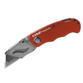 Nůž zavírací s výměnným břitem, 18mm, EXTOL PREMIUM
