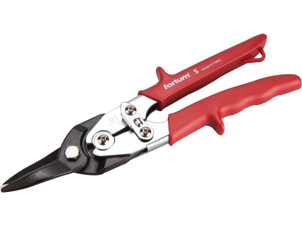 Nůžky na plech převodové, 255mm, rovné, CrMo, FORTUM Nářadí-Sklad 1 | 0.556