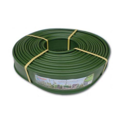 Obruba záhonů, zelená 18m x 12,5cm