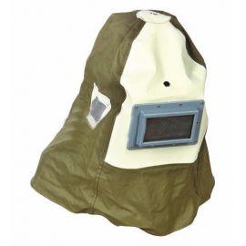 Ochranná maska s přilbou na pískování GEKO
