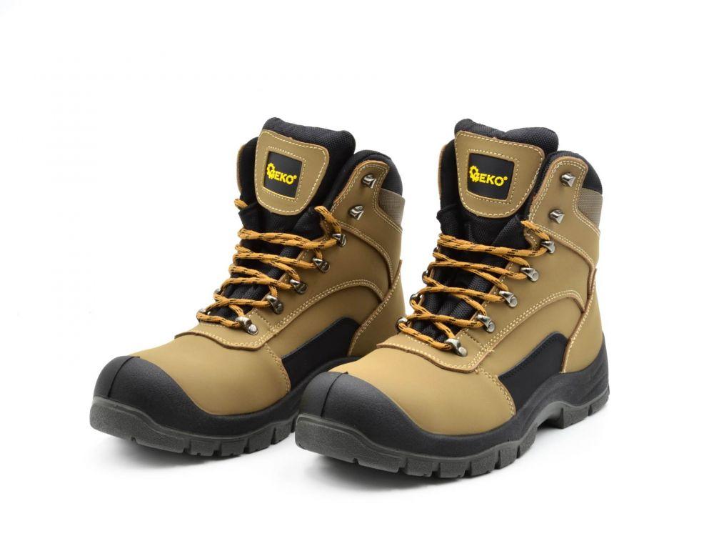 Ochranná obuv model 6, vel. 43, kožená, vysoká GEKO Nářadí-Sklad 1 | 0