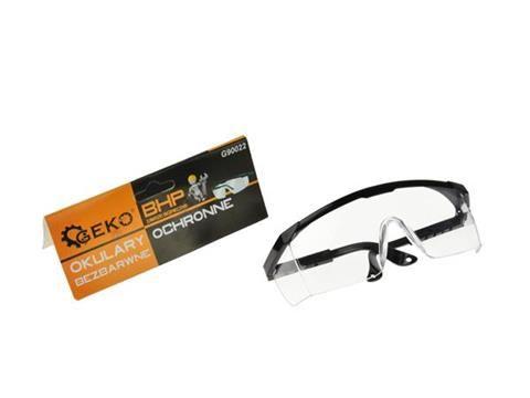Ochranné brýle bílé GEKO
