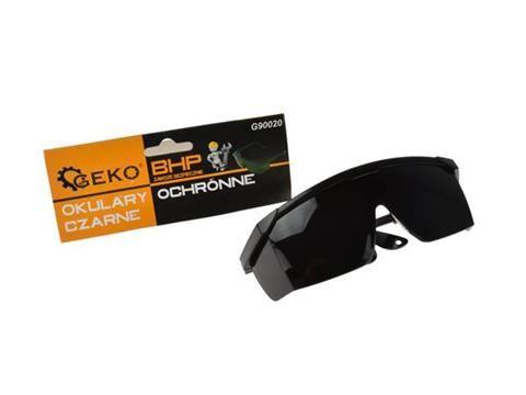 Ochranné brýle černé GEKO
