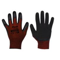 """Ochranné rukavice 11"""", latexové FLASH GRIP RED"""