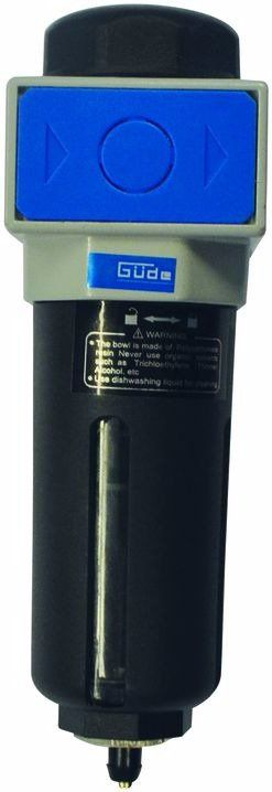 """Odlučovač vody s filtrační vložkou 1/4"""" GÜDE *HOBY 0.21Kg 41081"""