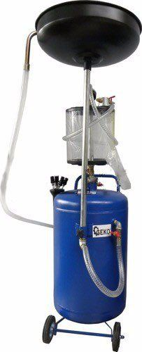 Pneumatická odsávačka použitého oleje 80l GEKO