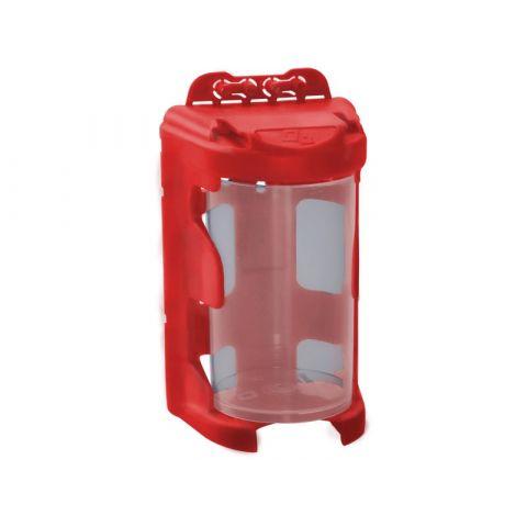 Organizér modulový závěsný - červený, 210ml (60 x 92mm), PP
