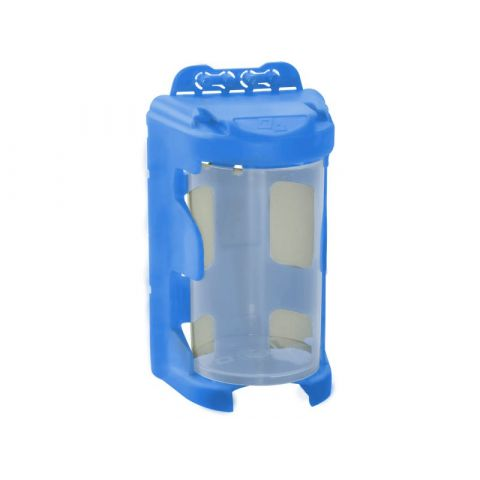 Organizér modulový závěsný - modrý, 210ml (60 x 92mm), PP