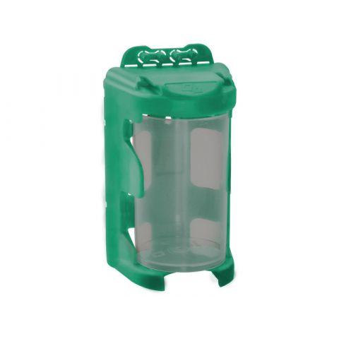 Organizér modulový závěsný - zelený, 210ml (60 x 92mm), PP