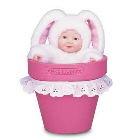 Panenka - Baby Králíček v květináči ANNE GEDDES