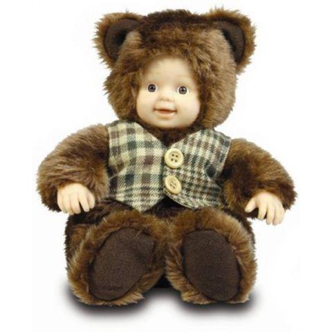 Panenka - Baby Medvídek s vestičkou ANNE GEDDES