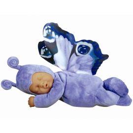 Panenka - Baby Motýl modrý spící ANNE GEDDES