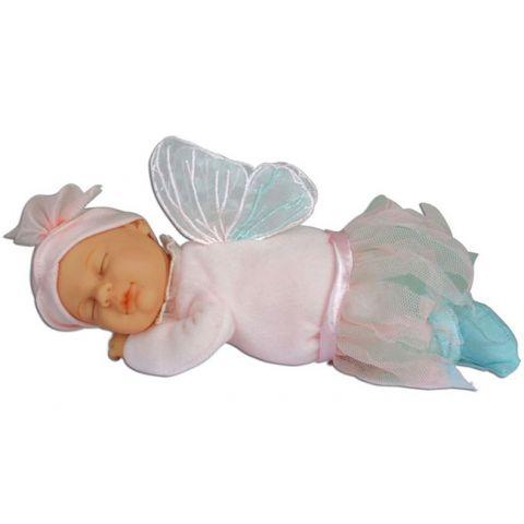 Panenka - Baby Víla růžová spící ANNE GEDDES