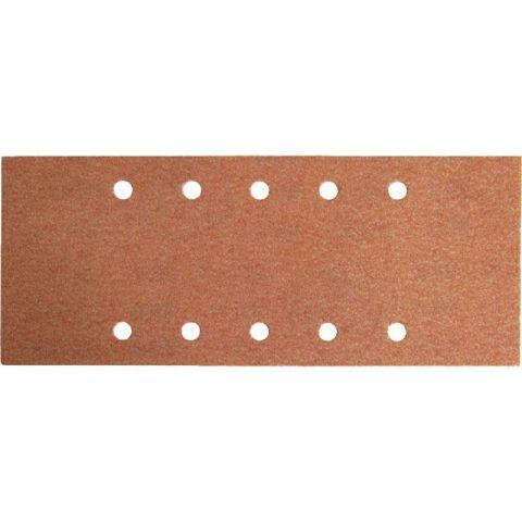 Papír brusný ERSTA, 10 otvorů, 115x280mm, P100