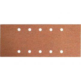Papír brusný ERSTA, 10 otvorů, 115x280mm, P80