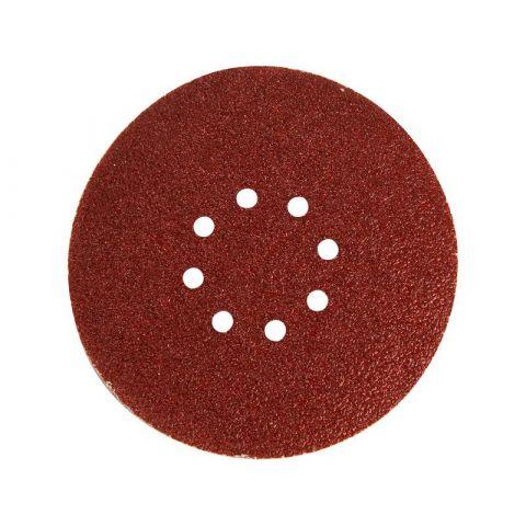 Papír brusný výsek, suchý zip, bal. 10ks, 225mm, P80, pro 8894210, EXTOL PREMIUM