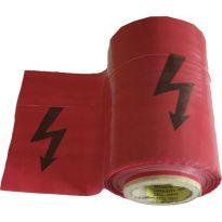 Páska červená BLESK 250mx22cm