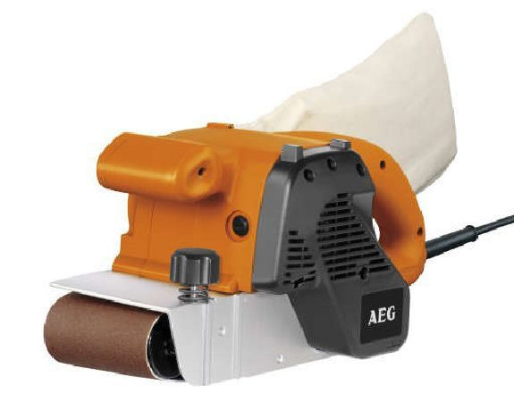 Elektrická pásová bruska  AEG BBSE 1100, 1100W