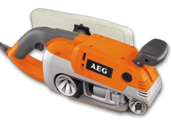 Elektrická pásová bruska HBS 1000 E AEG, 1010W