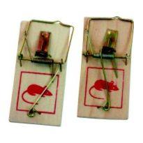 Past na myši dřevěná - 2ks