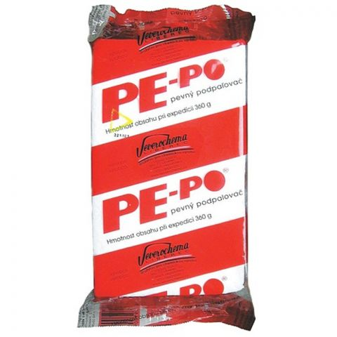 PE-PO pevný podpalovač 40 podpalů
