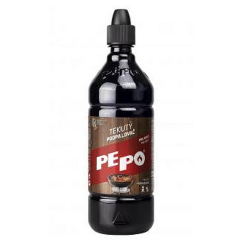 PE-PO tekutý podpalovač 1 l