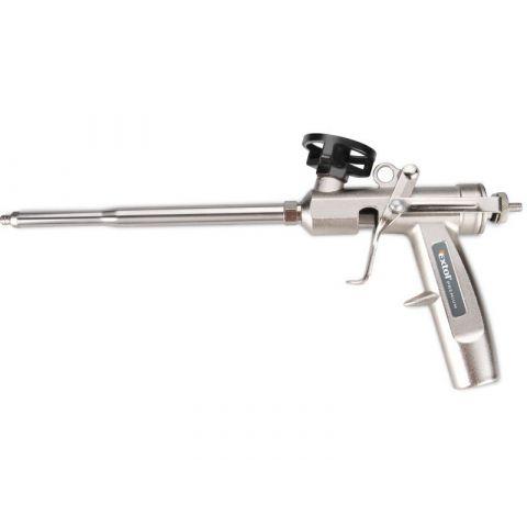 Pistole na PU pěnu celokovová, s regulací průtoku EXTOL PREMIUM