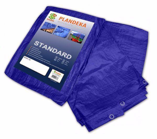 Plachta zakrývací 12x10m, 50g, modrá STANDARD Nářadí-Sklad 1   15