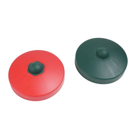 Plastová krytka - kulatina 100x100mm JUST FUN