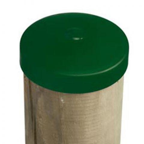 Plastová krytka - kulatina Ø 120 mm, zelená KAXL