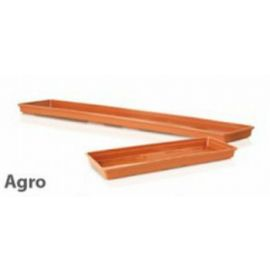 Plastová podmiska 500mm AGRO, zelená