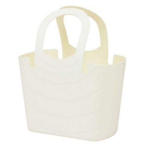 Plastová taška 6,5L LUCY, krémová *HOBY 0.4Kg ITLU300-WG1U