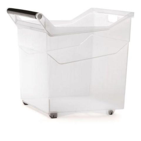 Plastový box úložný NUK 380x379x379mm transparentní