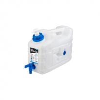 Plastový kanystr na vodu 10l s kohoutkem a dávkovačem mýdla KTZD10