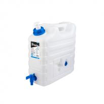 Plastový kanystr na vodu 15l s kohoutkem a dávkovačem mýdla KTZD15