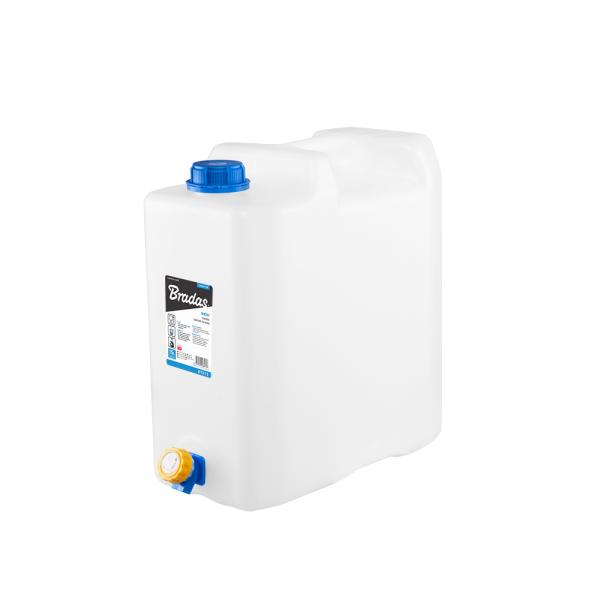 Plastový kanystr na vodu 15l s kohoutkem KTZ15 *HOBY 0.8Kg BR-KTZ15