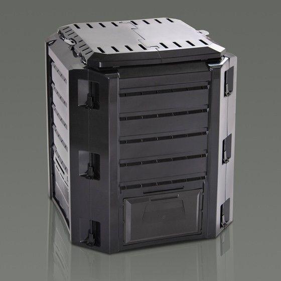 Plastový kompostér 380l COMPOGREEN, černý Nářadí-Sklad 1 | 6