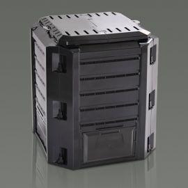 Plastový kompostér 380l COMPOGREEN, černý