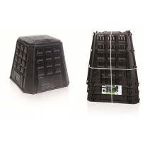 Plastový kompostér 420l, černý IKEL420C EVOGREEN