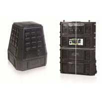 Plastový kompostér 630l, černý IKEL630C EVOGREEN