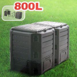 Plastový kompostér 800l, černý MODULE COMPOGREEN